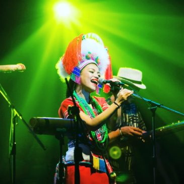 Live Music Show of Taiwanese Indigenous Artists – Ado' Kaliting Pacidal and Suming Rupi perform for Taiwan Day 2018