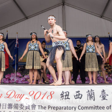 The performances of The NZ Taiwan Day 2018